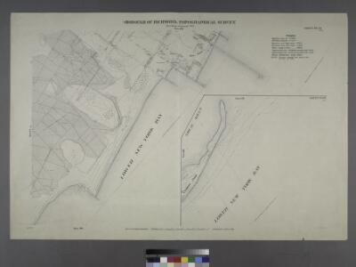 Sheet Nos. 72 & 87. [Sheet No. 72. Includes New Dorp Beach, Roma Avenue and Cedar Avenue. - Sheet No. 87. Includes Great Kills and Crooke's Point.]; Borough of Richmond, Topographical Survey.