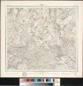 Meßtischblatt [8124] : Reute, 1913