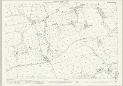 Devon XLII.5 (includes: Ashreigney; Winkleigh) - 25 Inch Map
