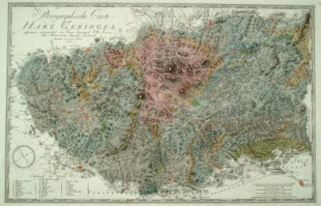 Petrographische Carte des Harz Gebirges