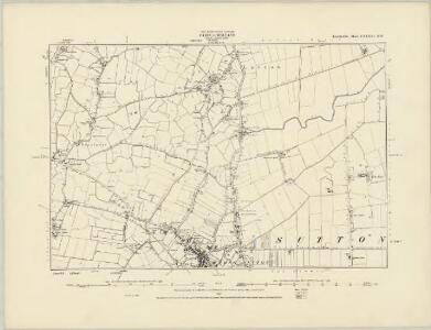 Lincolnshire CXXXV.NE - OS Six-Inch Map