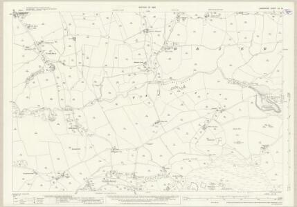 Lancashire LVI.16 (includes: Briercliffe; Worsthorne With Hurstwood) - 25 Inch Map