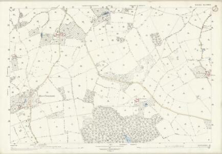Herefordshire XVIII.14 (includes: Almeley; Dilwyn; Pembridge; Sarnesfield; Weobley) - 25 Inch Map