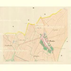Pinke (Penkow) - m0051-1-002 - Kaiserpflichtexemplar der Landkarten des stabilen Katasters