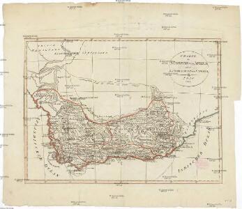 Charte der Südspize von Africa oder des Hottentotten und Caplands