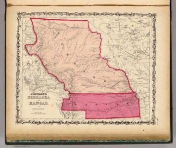Nebraska And Kansas.