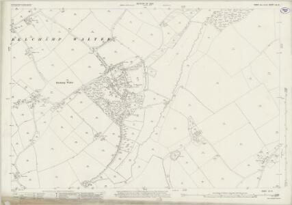 Essex (New Series 1913-) n X.12 (includes: Belchamp Walter; Bulmer) - 25 Inch Map