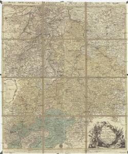Le landgraviat de Hesse-Cassel meridional et septentr. avec une partie du landgraviat de Hesse-Darmstadt et de la Vetteravie avec autres dependences
