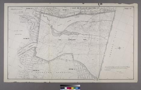 Section 27 of Final Maps and Profiles, of the 23rd & 24th Wards.