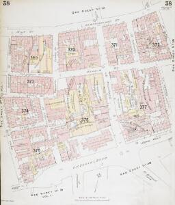 Insurance Plan of Bristol Vol II: sheet 38
