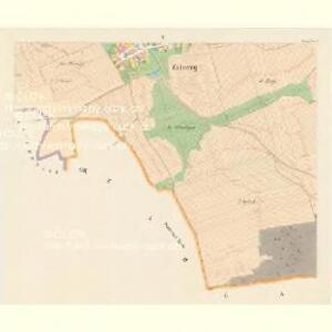 Zaborzy - c9014-1-004 - Kaiserpflichtexemplar der Landkarten des stabilen Katasters