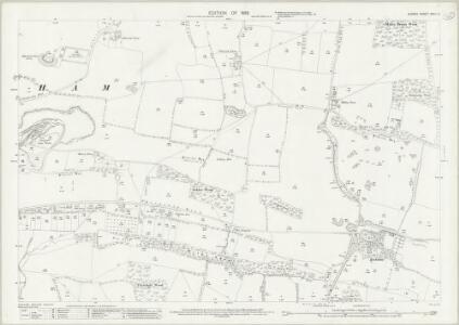 Surrey XXVII.5 (includes: Bletchingley; Chaldon; Merstham) - 25 Inch Map