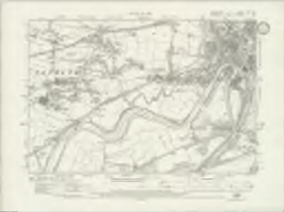 Lancashire CXV.NE - OS Six-Inch Map
