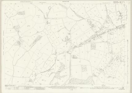 Warwickshire XIXA.13 (includes: Belbroughton; Birmingham; Bromsgrove; Romsley) - 25 Inch Map