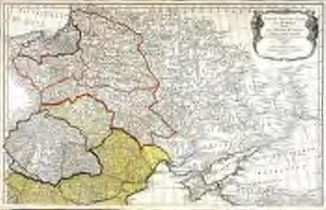 Dritter Theil der Karte von Europa welcher das südliche Russland Polen und Ungarn die europæische, und beinahe die ganze asiatische Türkei enthælt, 1