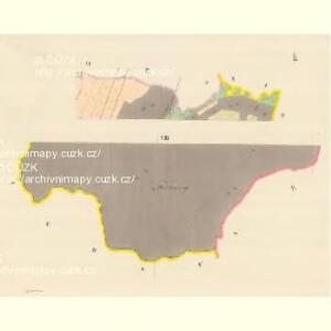 Domstadt (Domassow) - m0557-1-007 - Kaiserpflichtexemplar der Landkarten des stabilen Katasters