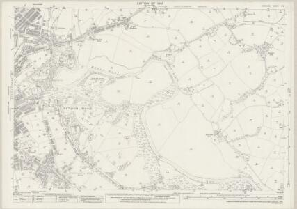 Cheshire X.16 (includes: Bredbury and Romiley; Stockport) - 25 Inch Map