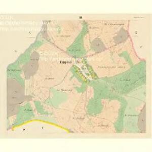 Lippkau (Lippkow) - c4018-1-002 - Kaiserpflichtexemplar der Landkarten des stabilen Katasters