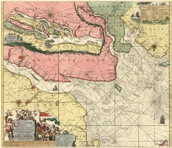 Paskaart vande Iade, Weser en Elve :