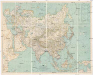Asia and adjacent regions