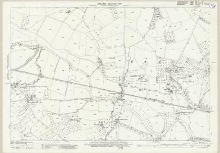 Worcestershire XVIII.3 (includes: Brimfield; Little Hereford; Richards Castle; Tenbury) - 25 Inch Map