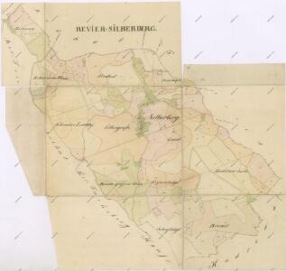 Mapy lesních porostů svěřeneckého panství Kout - revír Orlovice