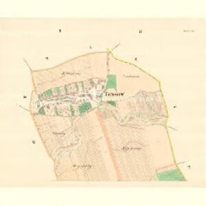 Tassow - m3081-1-001 - Kaiserpflichtexemplar der Landkarten des stabilen Katasters