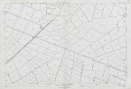 Somerset LXII.3 (includes: Aller; Ashcott; Greinton; High Ham; Middlezoy; Moorlinch; Othery; Shapwick) - 25 Inch Map