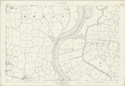 Somerset XVI.11 (includes: Berrow; Bleadon; Brean; Weston Super Mare) - 25 Inch Map