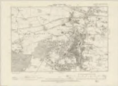 Cheshire XVIII.NW - OS Six-Inch Map