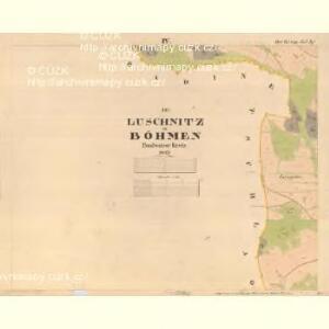 Luschnitz - c5945-2-004 - Kaiserpflichtexemplar der Landkarten des stabilen Katasters