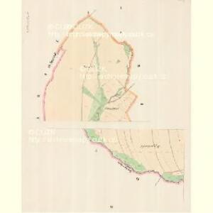 Gr. Olbersdorf (Obrechcice Welka) - m3317-1-001 - Kaiserpflichtexemplar der Landkarten des stabilen Katasters