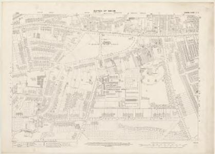 London X.3 - OS London Town Plan