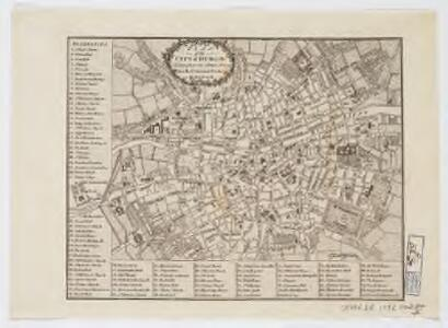 Plan of the city of Dublin : taken from an actual survey from the Universal Scots Almanack