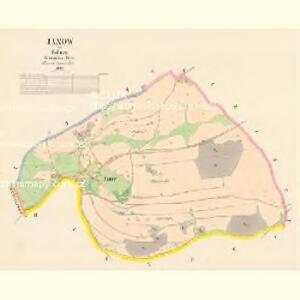 Janow - c2753-1-001 - Kaiserpflichtexemplar der Landkarten des stabilen Katasters