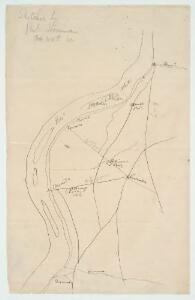 [Map of Poolesville, Maryland and vicinity showing the position of Union brigades]