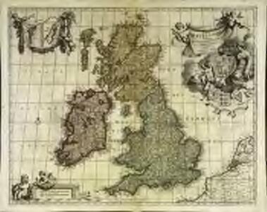 Magnæ Britanniæ tabula, Angliam, Scotiam, et Hiberniam continens