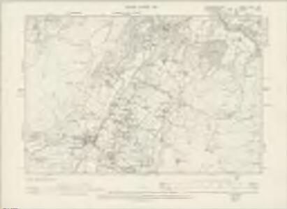 Caernarvonshire XXIV.SW - OS Six-Inch Map
