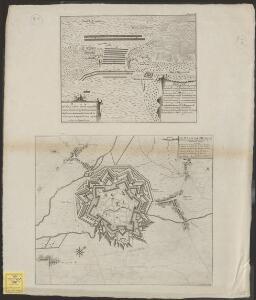 Le plan de Hesdin: ville forte du Comté d'Artois sur la riviere du Canche