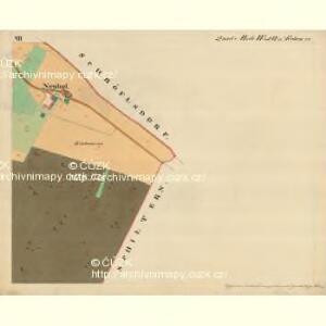 Cwalatitz - m0989-1-007 - Kaiserpflichtexemplar der Landkarten des stabilen Katasters