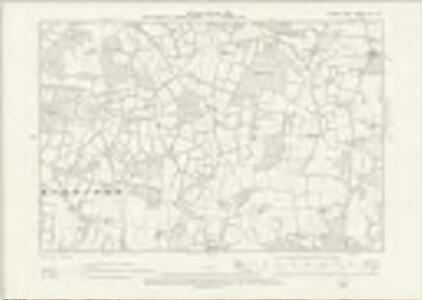 Sussex XII.SW - OS Six-Inch Map