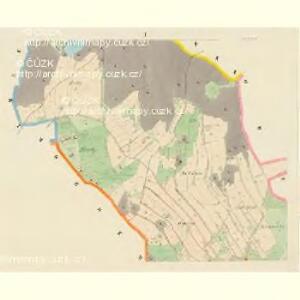 Leskowiz - c3866-1-001 - Kaiserpflichtexemplar der Landkarten des stabilen Katasters