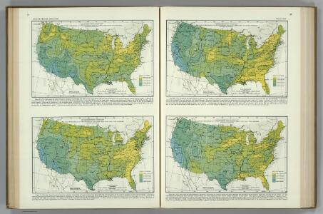 Frequency of Precipitation.  Atlas of American Agriculture.