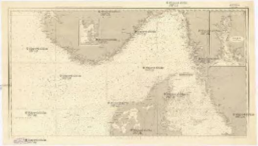 Die Nord- und Ostsee zwischen Texel und Arkona