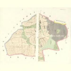 Strzebischow (Strzebissow) - c8030-1-001 - Kaiserpflichtexemplar der Landkarten des stabilen Katasters