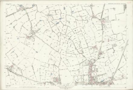Shropshire XIV.15 (includes: Wem Rural; Wem Urban) - 25 Inch Map