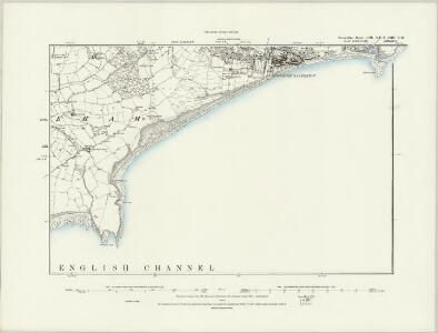 Devonshire CIII.NW - OS Six-Inch Map