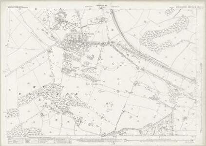 Buckinghamshire XLI.16 (includes: High Wycombe) - 25 Inch Map