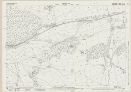 Radnorshire XI.15 (includes: Knighton; Stanage; Stowe) - 25 Inch Map