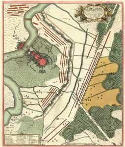 Plan der R. Vestung Philipsburg